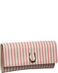 Lucky stripe clutch bag medium 110125