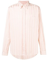 Ami Paris Classic Wide Fit Shirt With Chest Pocket