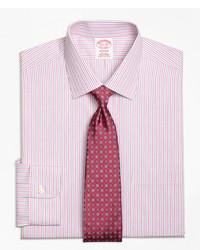 Brooks Brothers Non Iron Milano Fit Split Stripe Dress Shirt