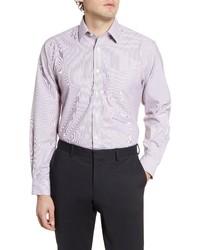 Nordstrom Men's Shop Smartcare Traditional Fit Stripe Dress Shirt