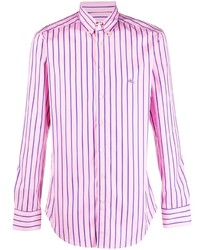 Etro Stripe Print Formal Shirt