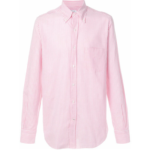 Loro Piana Striped Button Down Shirt