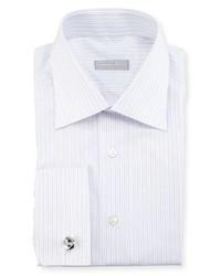 Stefano Ricci Striped French Cuff Dress Shirt