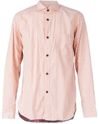 Comme des Garcons Junya Watanabe Comme Des Garons Man Striped Panelled Shirt