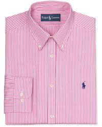 Men's Pink Vertical Striped Long Sleeve Shirts from Macy's | Men's ...