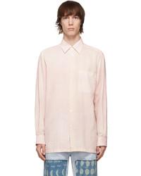 Loewe Pink Paulas Ibiza Patchwork Shirt