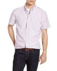 Fit Stripe Short Sleeve Shirt