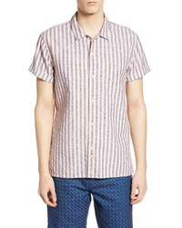 Scotch & Soda Structured Stripe Woven Shirt