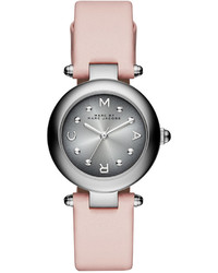 Marc by Marc Jacobs Dotty Pink Leather Strap Watch 26mm Mj1412