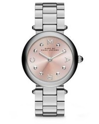 Marc by Marc Jacobs Dotty Stainless Steel Bracelet Watch