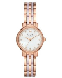 Kate Spade New York Monterey Crystal Dial Bracelet Watch 38mm