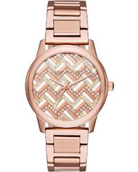 MICHAEL Michael Kors Michl Michl Kors 38mm Hartman Glitz Bracelet Watch