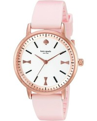 Kate Spade New York Crosby Bow Marker Silicone Strap Watch 1yru0871