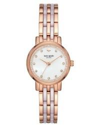 Kate Spade New York Monterey Crystal Dial Bracelet Watch 24mm
