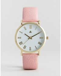 Asos Pale Pink Strap Watch