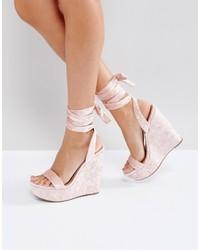 Asos Honduras High Wedge Sandals