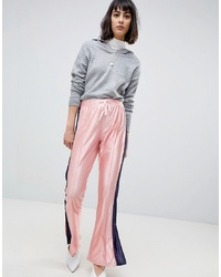 ASOS DESIGN Asos Kick Flare Trackpants With Split Hem And