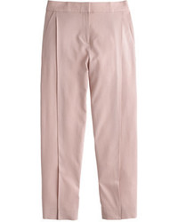 J.Crew Collection Italian Wool Pleated Cropped Pant