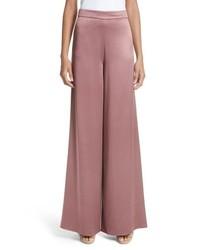 Cushnie et Ochs Nelle Side Slit Silk Pants