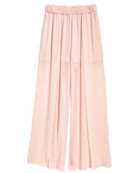 H&M Wide Leg Pants With Slits