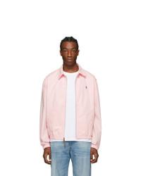 Polo Ralph Lauren Pink Bayport Windbreaker Jacket