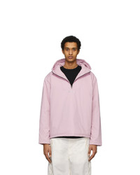 Ambush Pink Padded Anorak Jacket