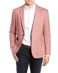 Pink Wool Blazer