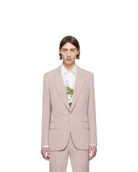 Givenchy Pink Wool Blazer