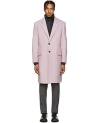 Versace Pink Wool Coat