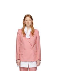 Givenchy Pink Structured Blazer