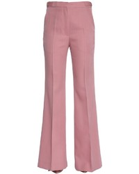 Rochas Cool Wool Flared Pants