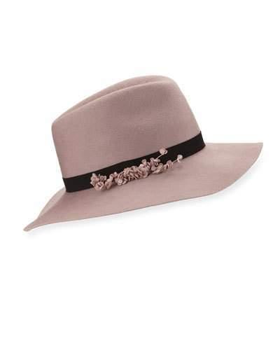 b23da04b2f04c ... Eugenia Kim Georgina Felt Fedora Hat Rose ...