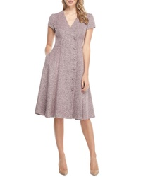 Gal Meets Glam Collection Agatha Dainty Tweed Dress