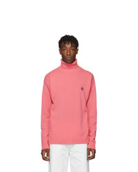 Pink Wool Turtleneck