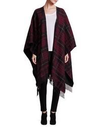 Plaid cape coat original 10131547