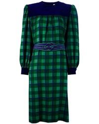 Plaid shift dress original 10090873