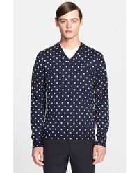 Polka Dot Sweaters For Men Mens Fashion