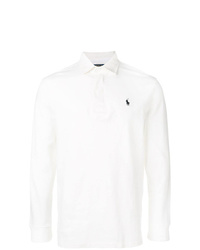 Polo de manga larga blanco de Polo Ralph Lauren