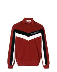 Polo de manga larga rojo de Givenchy