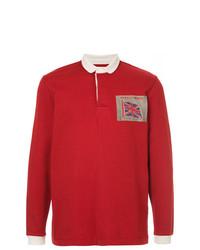 Polo de manga larga rojo de Kent & Curwen