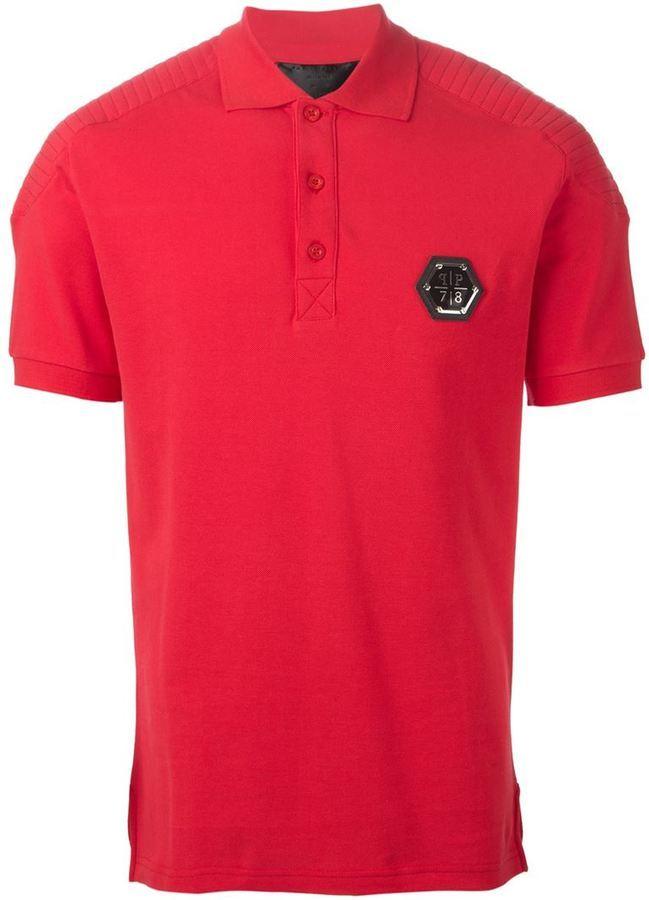 b1a50b115b417 Polo rouge Philipp Plein  Où acheter et comment porter