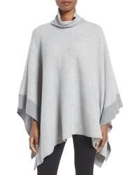 Poncho gris de Eileen Fisher