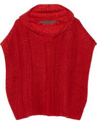 Poncho rojo de The Elder Statesman