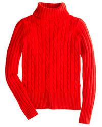 Pull a col roule en tricot original 10154802