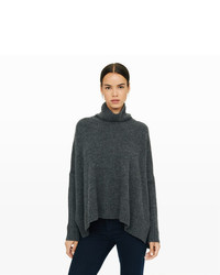 Pull surdimensionné en tricot gris foncé Club Monaco