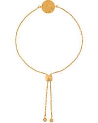 Pulsera dorada de Astley Clarke