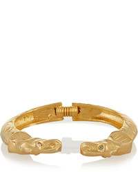 Pulsera dorada de Kenneth Jay Lane