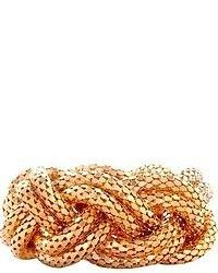 Pulsera dorada de Lara Bohinc