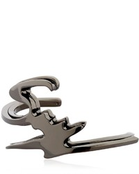 Pulsera negra de Giuseppe Zanotti Design