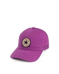 Converse hats converse tip off baseball cap purple medium 271019